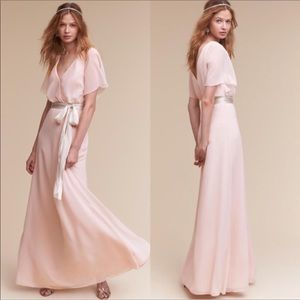 NWT Watters & Watters size 8 BHLDH gown ice pink